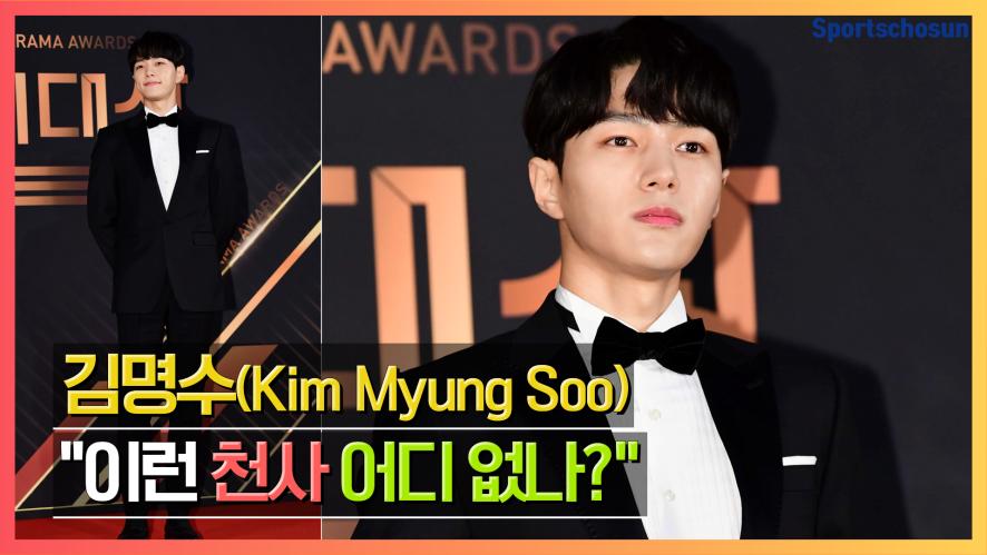 """김명수(Kim Myung Soo) """"이런 천사 어디 없나?"""" (2019 KBS연기대상)"""