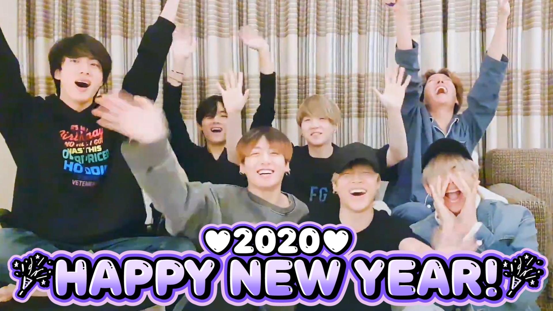 [BTS] 2020 덕담 트렌드는 인과응보 스타일, 복 받으려면 잘하자~!💜ヽ(・∀・)ノ💜 (BTS's New Year Countdown)