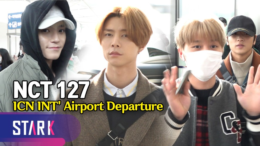 NCT 127 출국, 시즈니! 새해 복 많이 받아요~ (NCT 127, 20200103_ICN INT' Airport Departure)