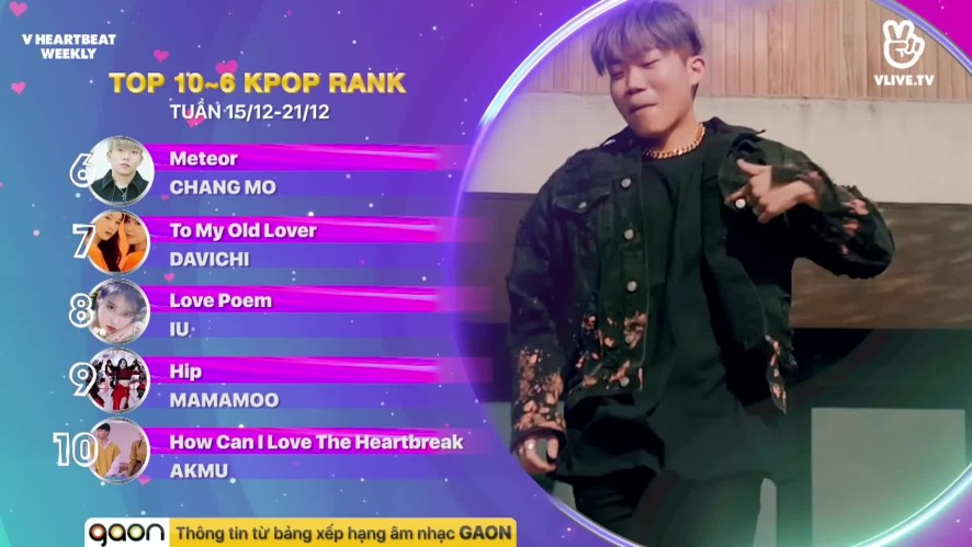 [V HEARTBEAT WEEKLY] Ep.76- K POP CHART & NEWS