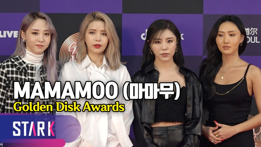 걸크러시 뽐내는 마마무, 'HIP'한 레드카펫 패션 (MAMAMOO, Golden Disk Awards)