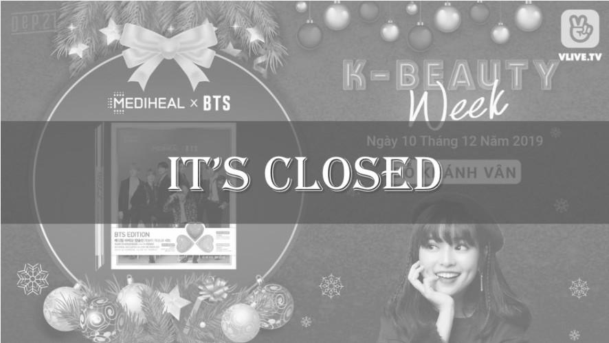 [K-BEAUTY WEEK] MEDIHEAL x BTS Love me capsulin mask set