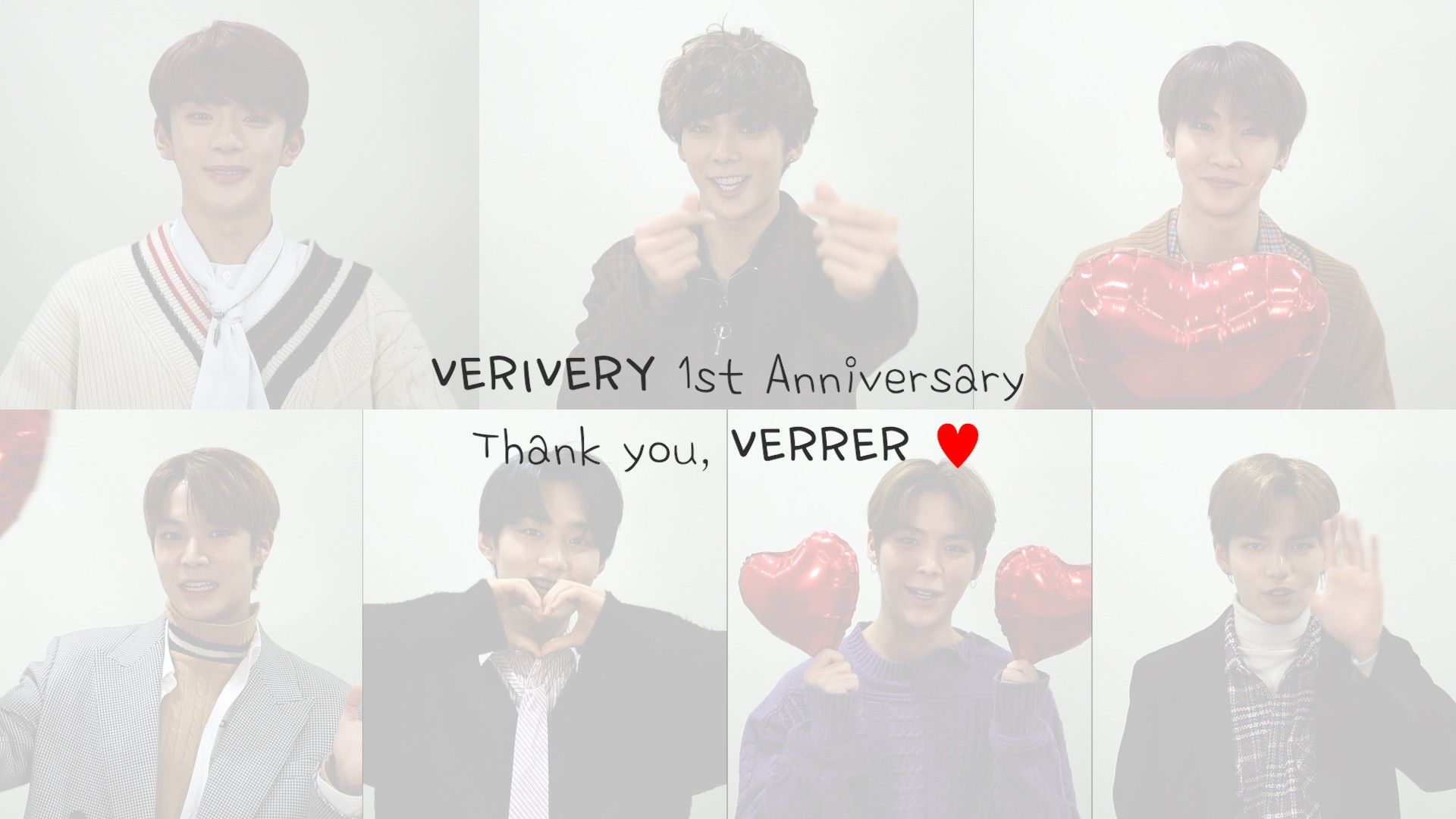 VERIVERY 1st Anniversary Message♥