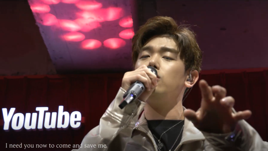 Eric Nam - Come Through (Live from YouTube Music Night Seoul)