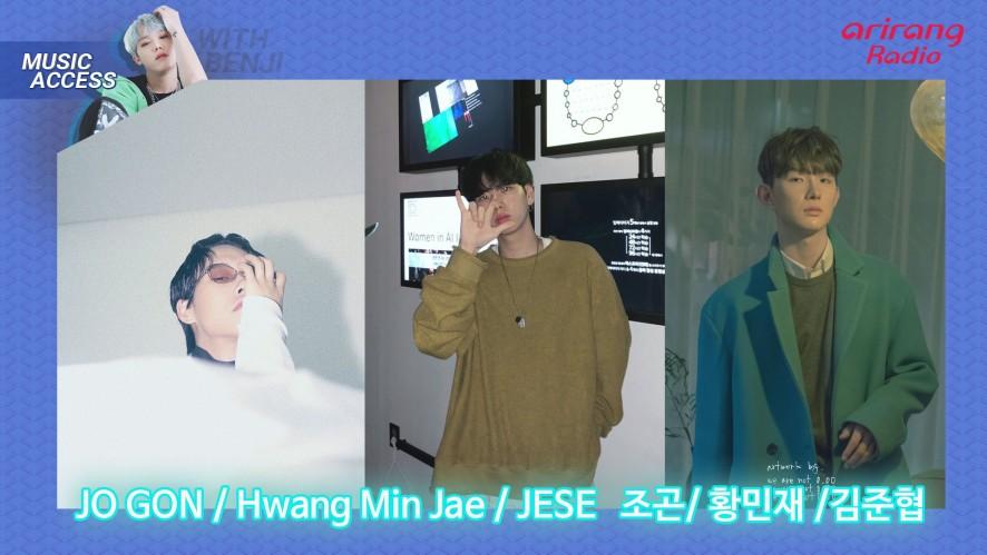 Arirang Radio (Music Access / JO GON, Hwang Min Jae, JESE 조곤, 황민재, 김준협)