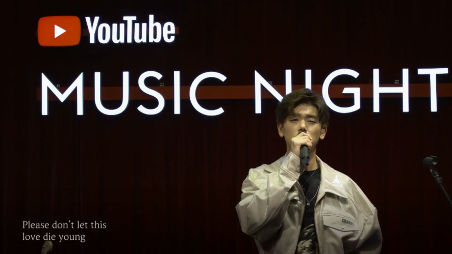 Eric Nam - Love Die Young (Live from YouTube Music Night Seoul)