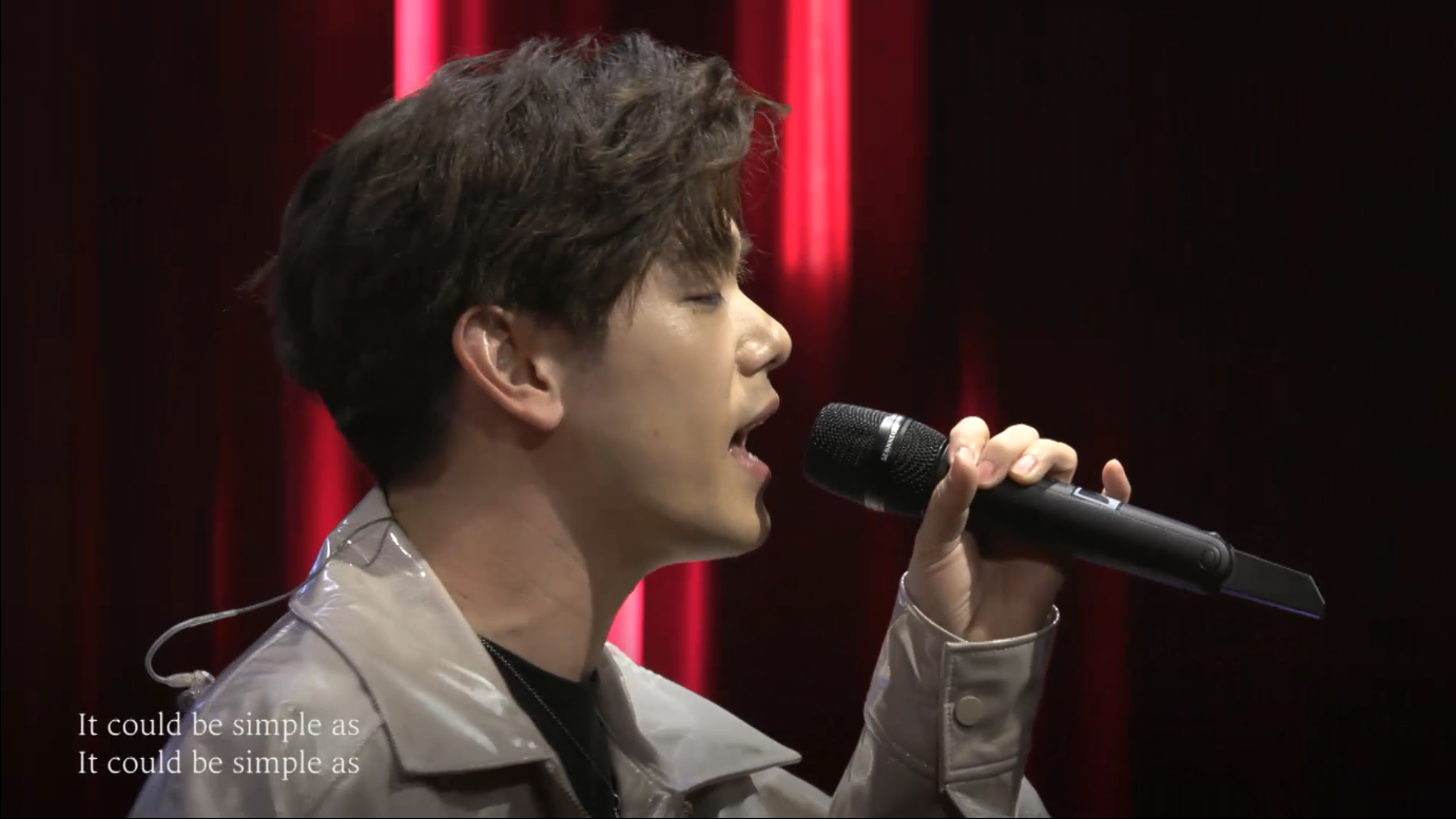 Eric Nam - You're Sexy I'm Sexy (Live from YouTube Music Night Seoul)
