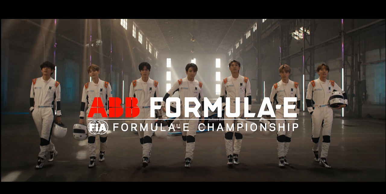 BTS X formula-E Official Promotion Clip[English Ver.]