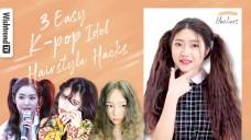 Try These *K-pop Idol Hair HACKs* | 3 Easy Tutorials for Wavy & Straight Hair