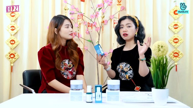 """An Vy review """"DR.Flora Whitening Serum"""" của U:RE SKIN"""