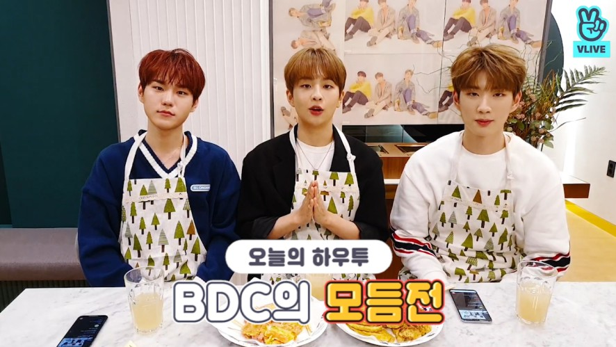 [V PICK! HOW TO in V] HOW TO COOK BDC's Jeon set🍳