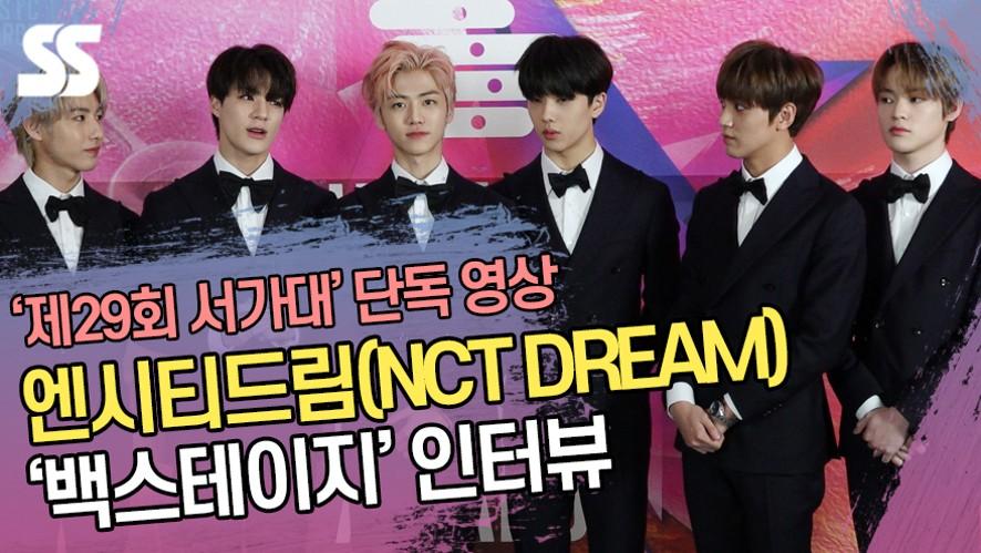 [단독영상] 엔시티드림(NCT DREAM) '백스테이지' 인터뷰 (서울가요대상)