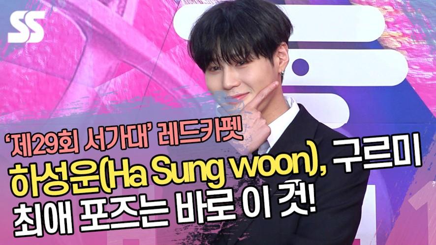 하성운(Ha Sung woon), 구르미 최애 포즈는 바로 이 것! ('제29회 서울가요대상 레드카펫')