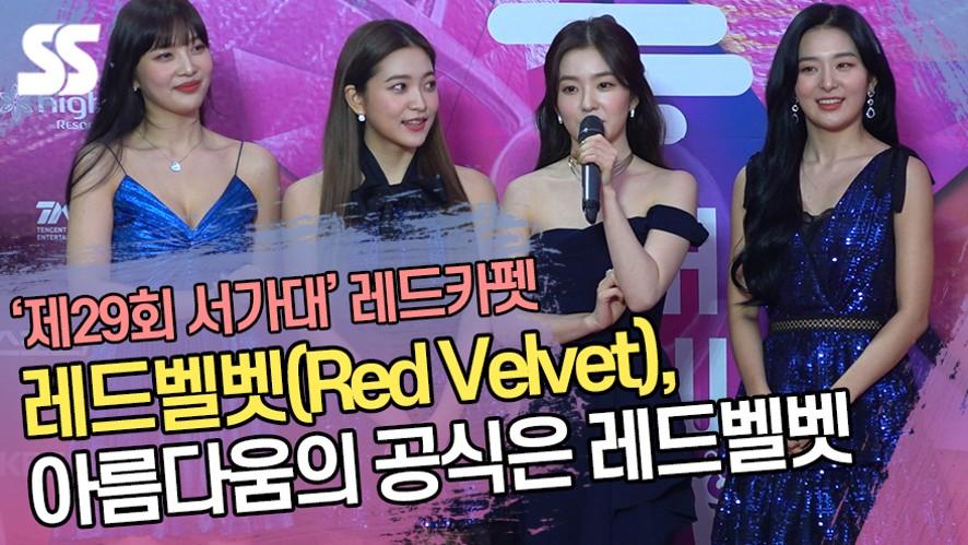 레드벨벳(Red Velvet), 아름다움의 공식은 레드벨벳이지 ('제29회 서울가요대상 레드카펫')