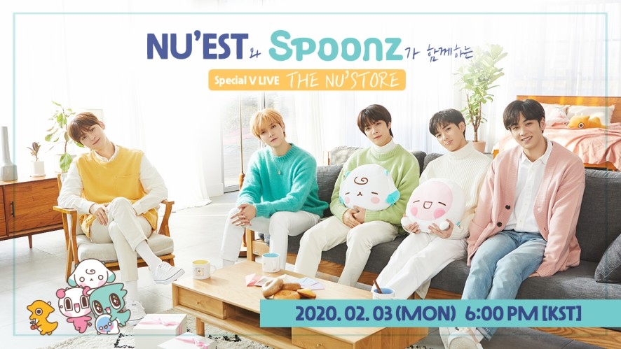 Special V LIVE with NU'EST and Spoonz [THE NU'STORE]