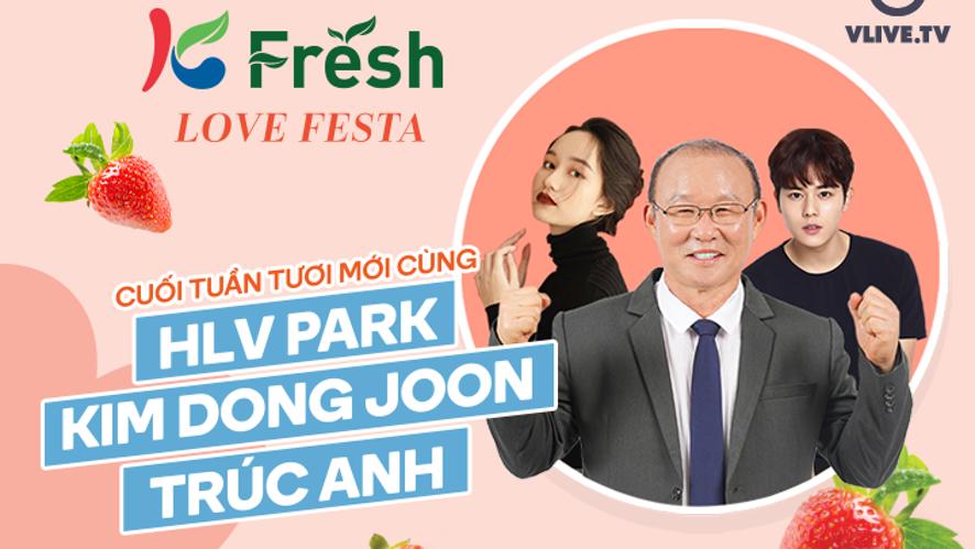 Cuối tuần tươi mới cùng HLV Park, Kim Dong Joon, Trúc Anh
