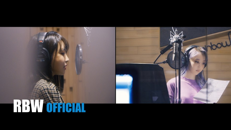 "[Moonbyul] ""Weird Day (Featuring Punch)"" Recording Making Film"