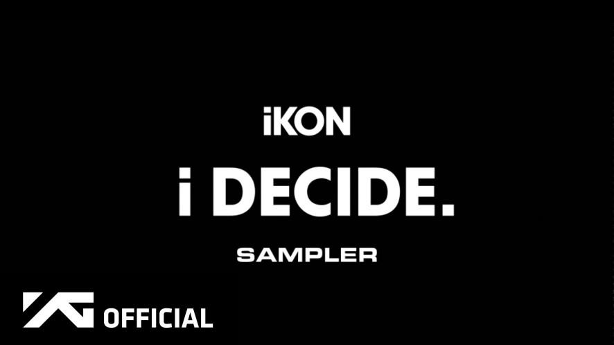 iKON - 'i DECIDE' SAMPLER