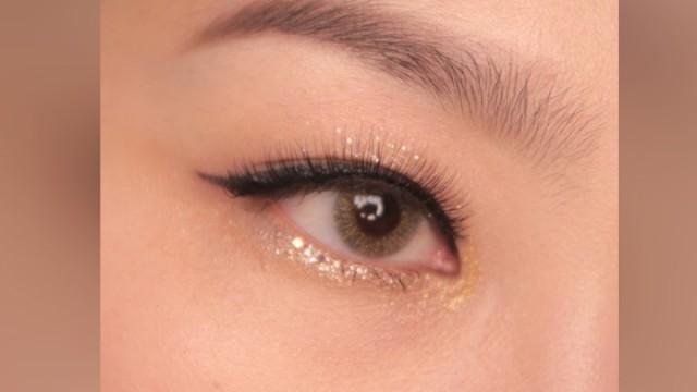 [1분팁] 통속눈썹 붙이는 법 How tostick eyelashes