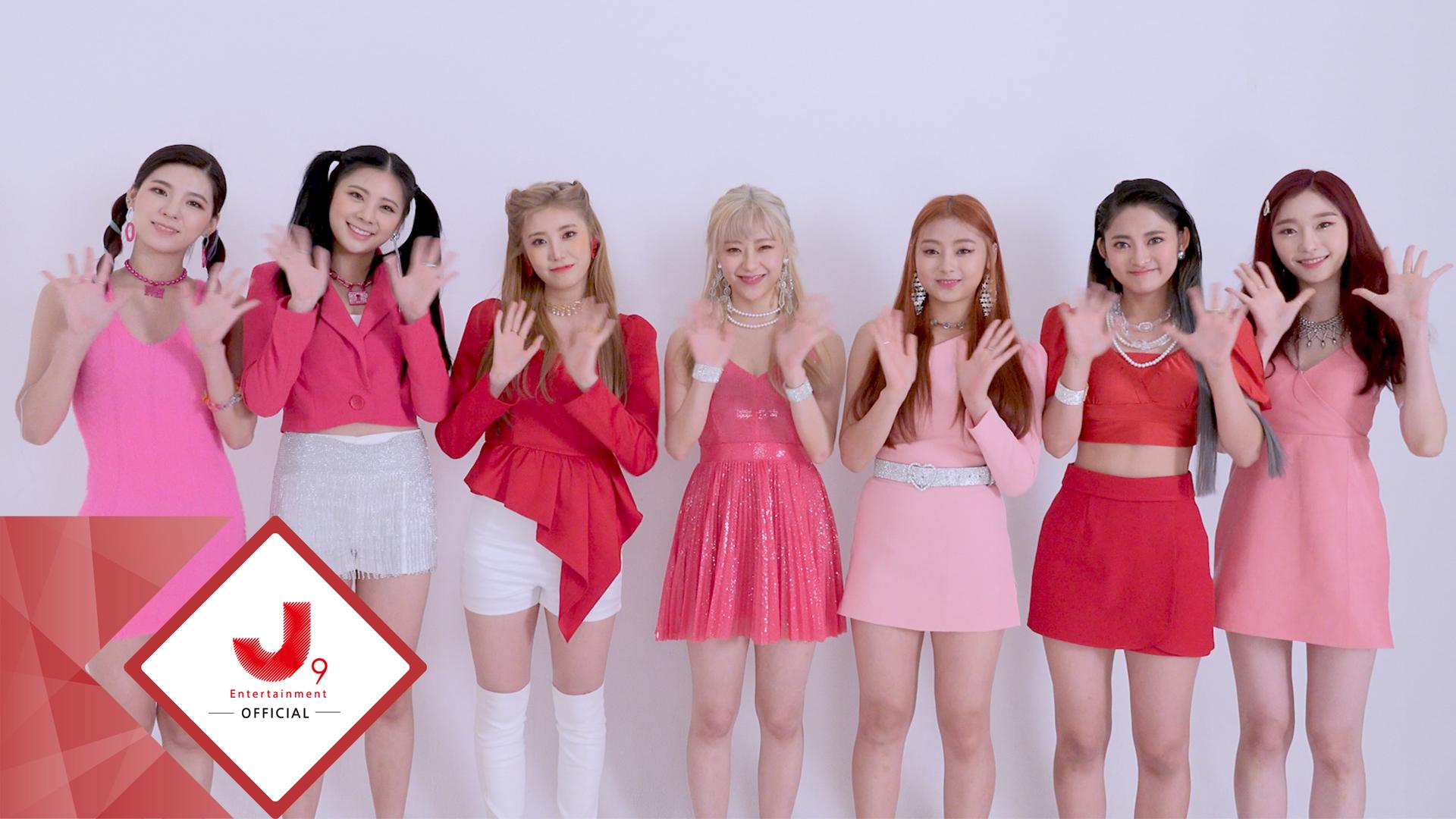 시그니처(cignature) - debut lead single A '눈누난나 (Nun Nu Nan Na)' Jacket Shooting Sketch