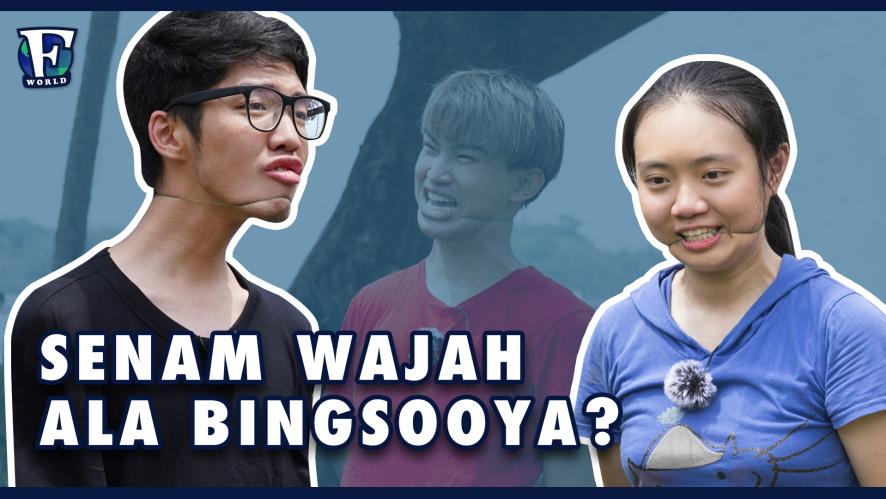 Senam Wajah Ala Bingsooya? [#F_WORLD #EP4]