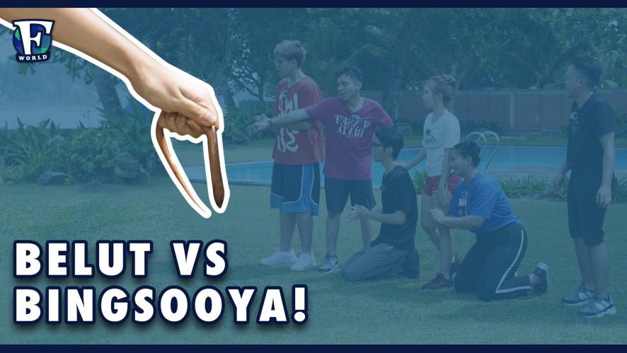 Pertarungan Sengit, Belut VS Bingsooya [#F_WORLD #EP5]