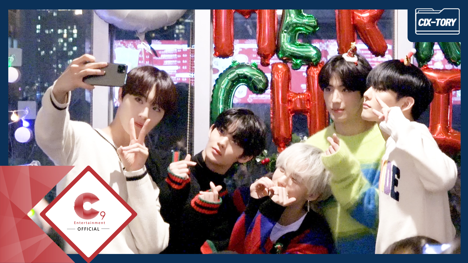 [CIX-tory] STORY.31 CIX 2019 Christmas with FIX
