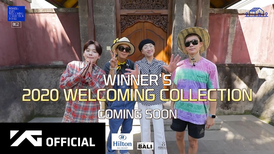 WINNER - WINNER'S 2020 WELCOMING COLLECTION [in BALI] SPOT