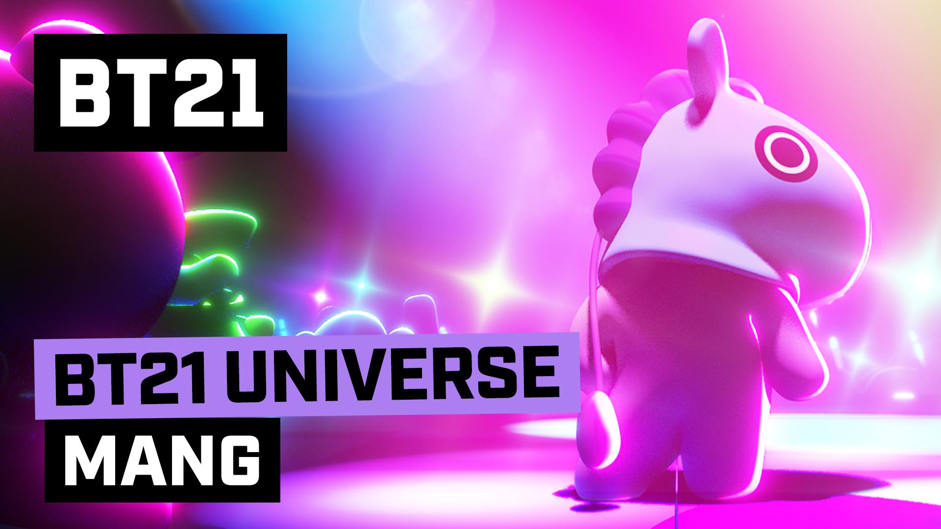 [BT21] BT21 UNIVERSE ANIMATION EP.08 - MANG