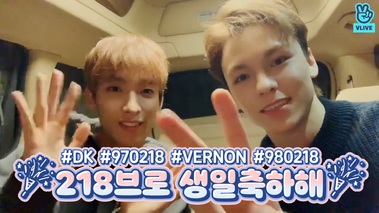 [SEVENTEEN] 겸이또리 둘이라서 사랑 두배 행복은 오조오억배!!🍰🍰 (HAPPY DK&VERNON DAY!)