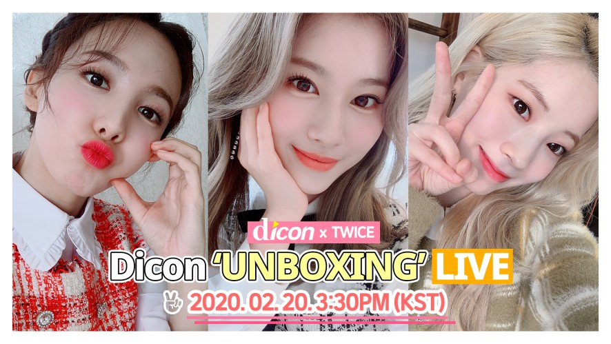 TWICE 'Dicon' Unboxing🐰🐹🦅
