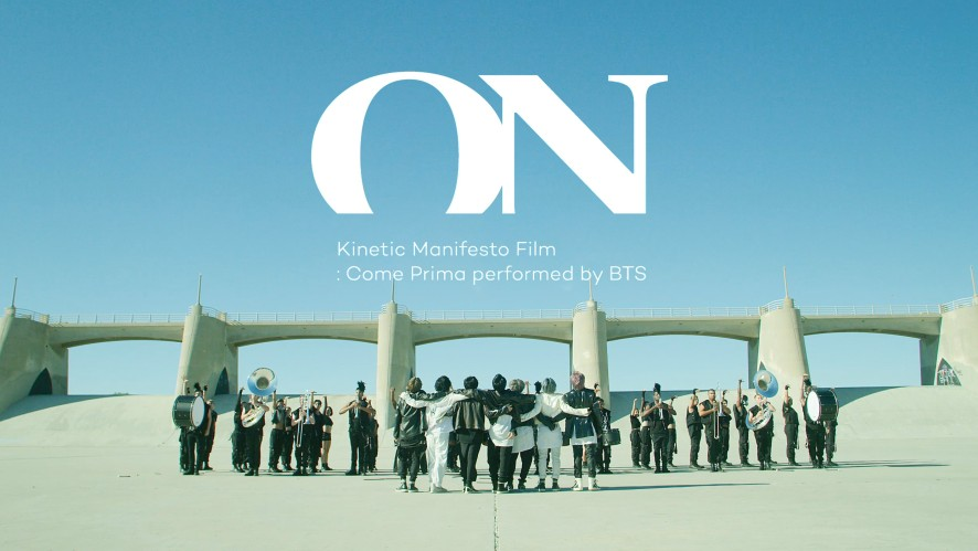 BTS 'ON' Kinetic Manifesto Film : Come Prima