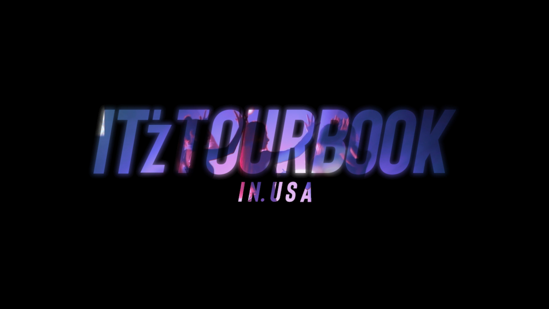 ITZY IT'z TOURBOOK in USA TEASER