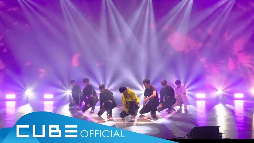펜타곤 - 'THE BLACK HALL' (Choreography Video Rehearsal Ver.) @ 1st Full Album Showcase