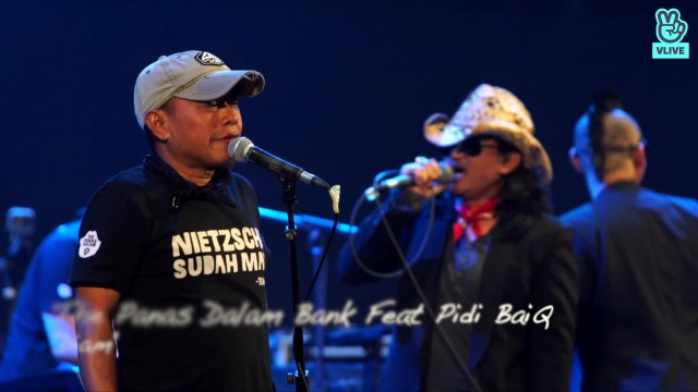The Panasdalam Bank Ft. Pidi Baiq - Diam @ DILAN CONCERT & MOVIE TALK