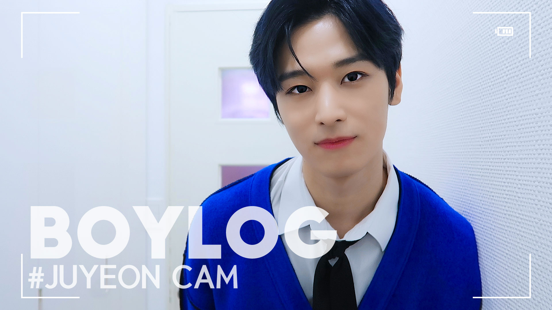 [BOYLOG] JUYEON CAM |THE SHOW MC Behind