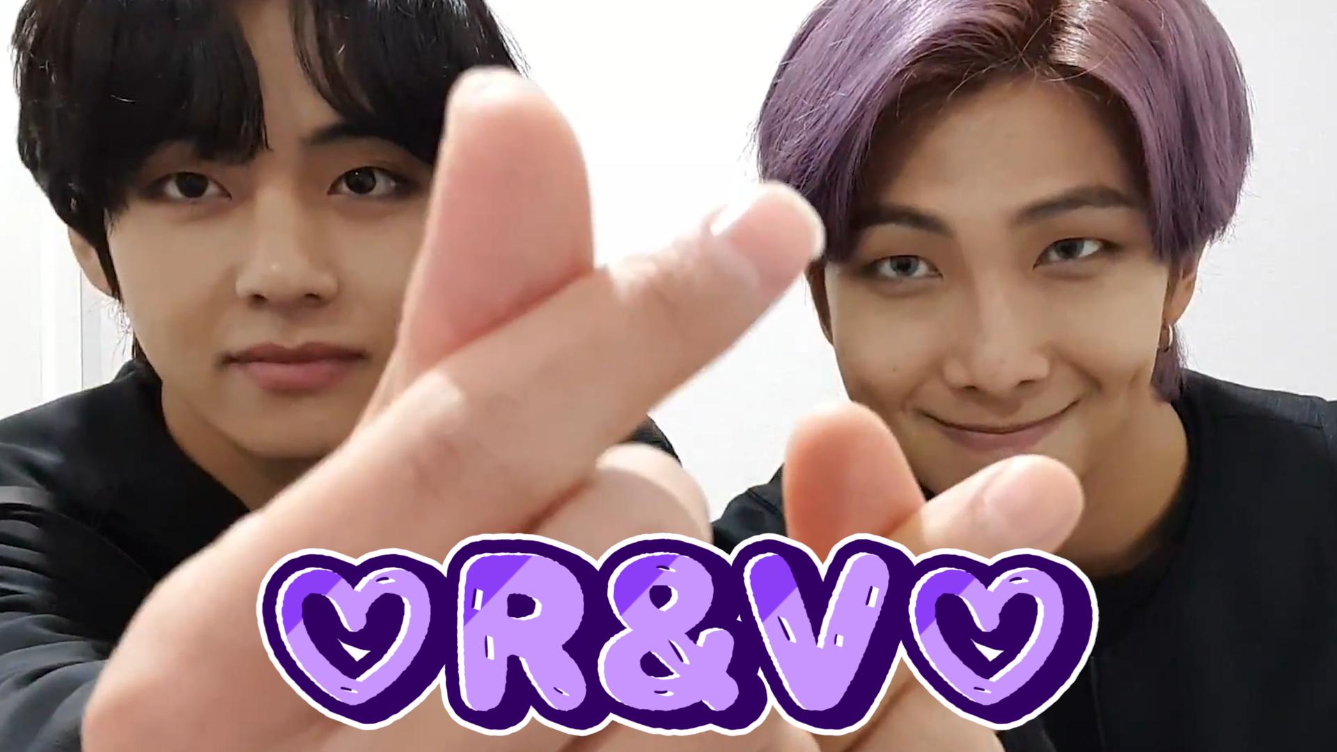[BTS] 나는 A&D.. 알앤뷔 큐티력에 (A)ㅏ주 (D)지버져요..ლ(ˊᗜˋლ)💕 (RM&V talking about their songs)