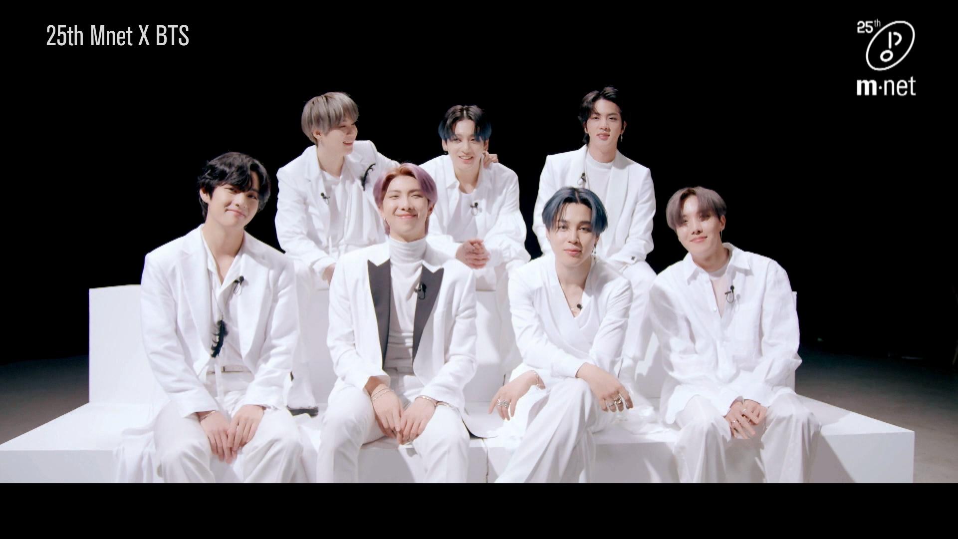 Mnet x BTS | 25 Mnet Interview '#BTS x Mnet, 우리가 함께한 순간들'