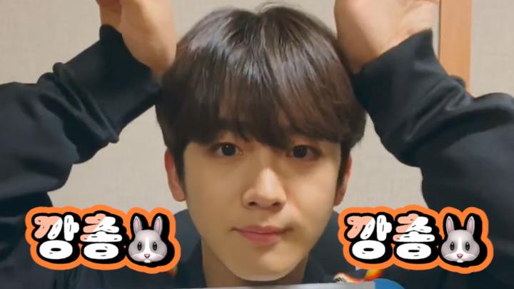 [김요한] 요카소 선생님의 자화상 그리기 수강생 모집합니다(1/990922)🐰 (YOHAN drawing a rabbit)