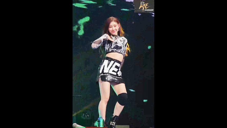 """ITZY """"WANNABE"""" #CHAERYEONG @ LIVE PREMIERE"""