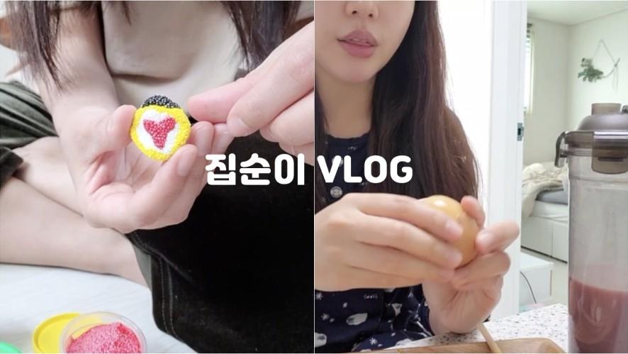 코로나로 Full 재택근무&집순이 브이로그 (feat.다이소쇼핑)
