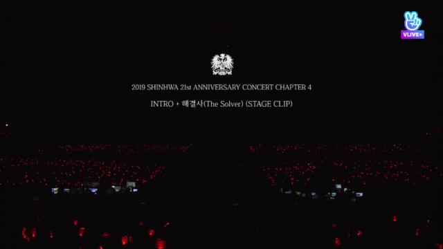2019 SHINHWA CONCERT 'CHAPTER4'- INTRO + 해결사(The Solver) (STAGE CLIP)