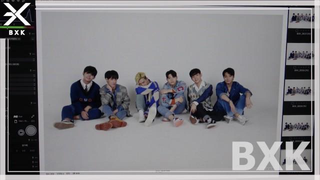 BXK 프로필 촬영 현장 공개