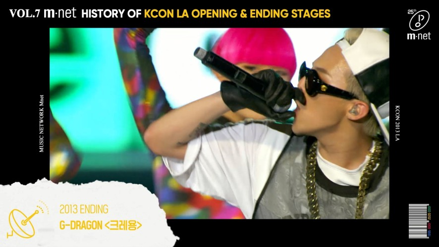 [Mnet] <25 Mnet Music> #7. HISTORY OF KCON LA OPENING & ENDING STAGES