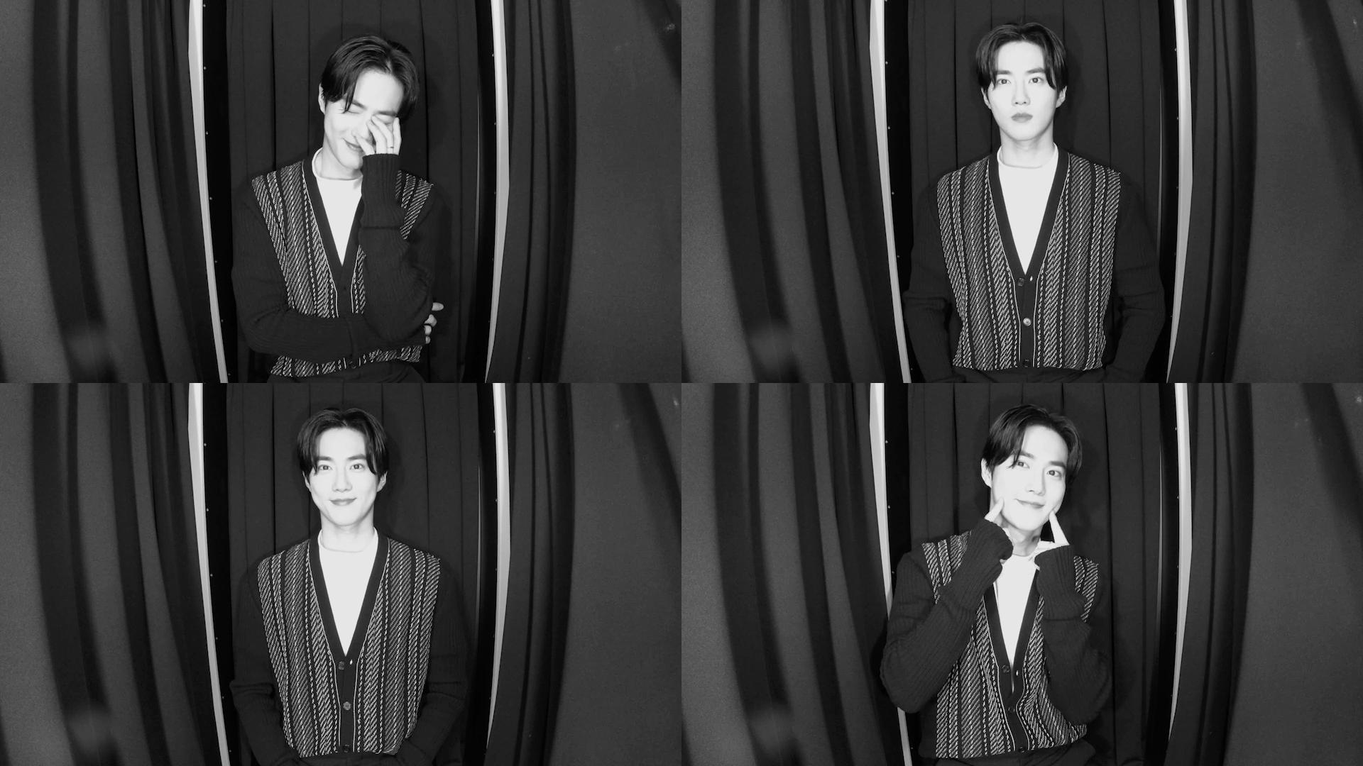 SUHO in the Photo Booth 📸
