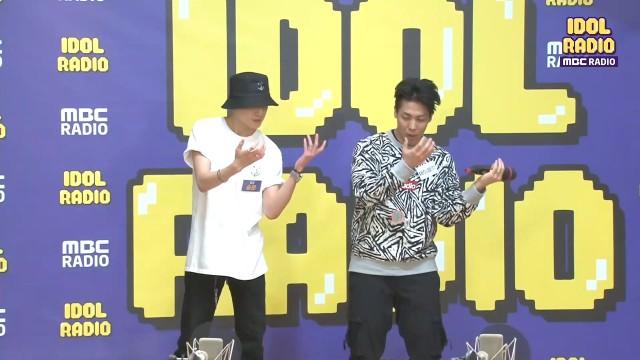 제이블랙&제이핑크에게 직접 춤을 배우는 승윤!!
