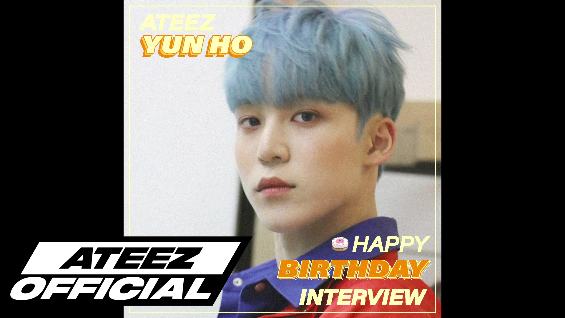 ATEEZ(에이티즈) 윤호 생일 8문 8답 INTERVIEW