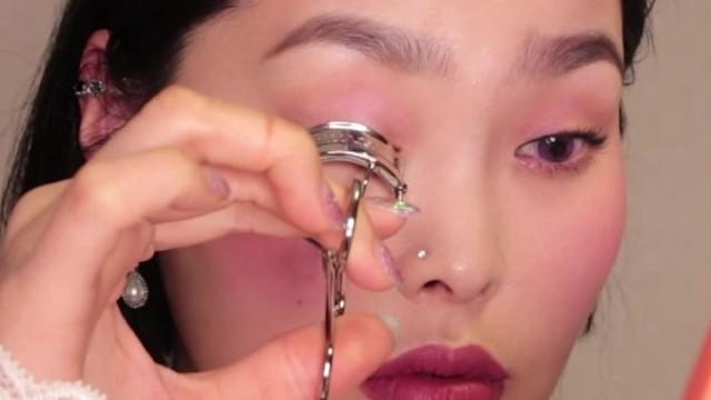[1분팁] 뷰러로 아찔한 속눈썹 만들기 How to curl the dizzy eyelashes