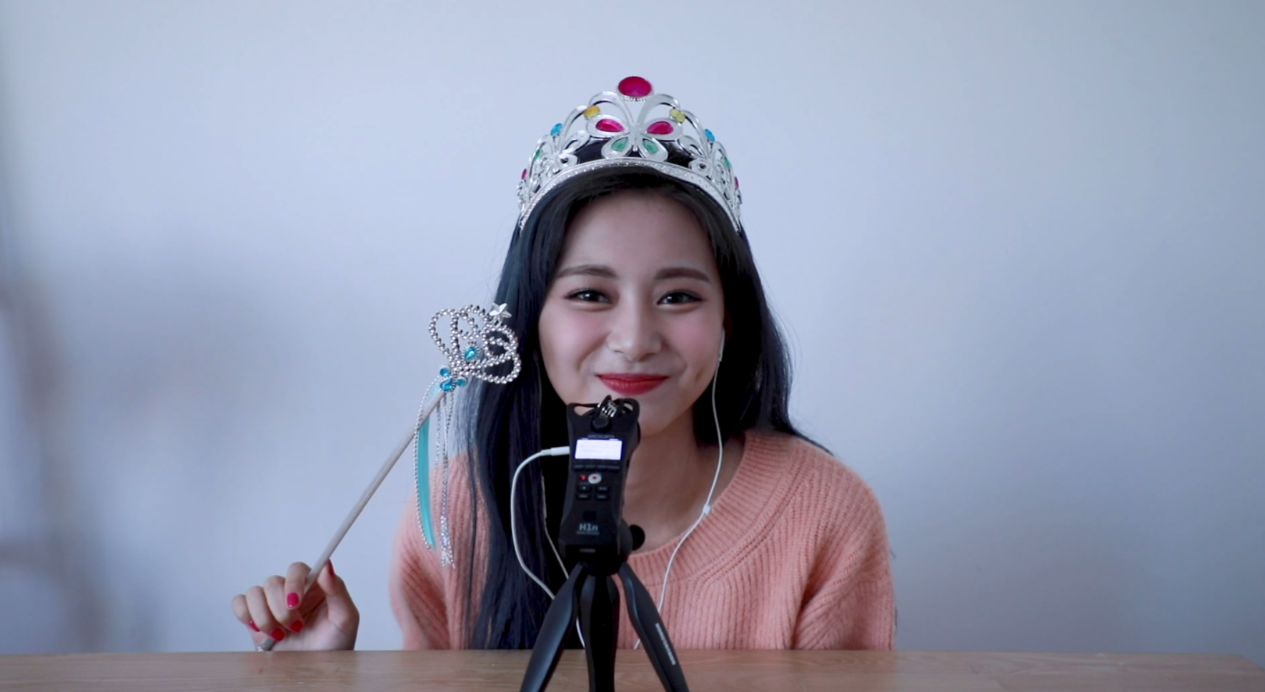 Yes, I am Tzuyu. ASMR Interview