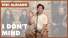 VIDI ALDIANO - I DON'T MIND (Live Version)